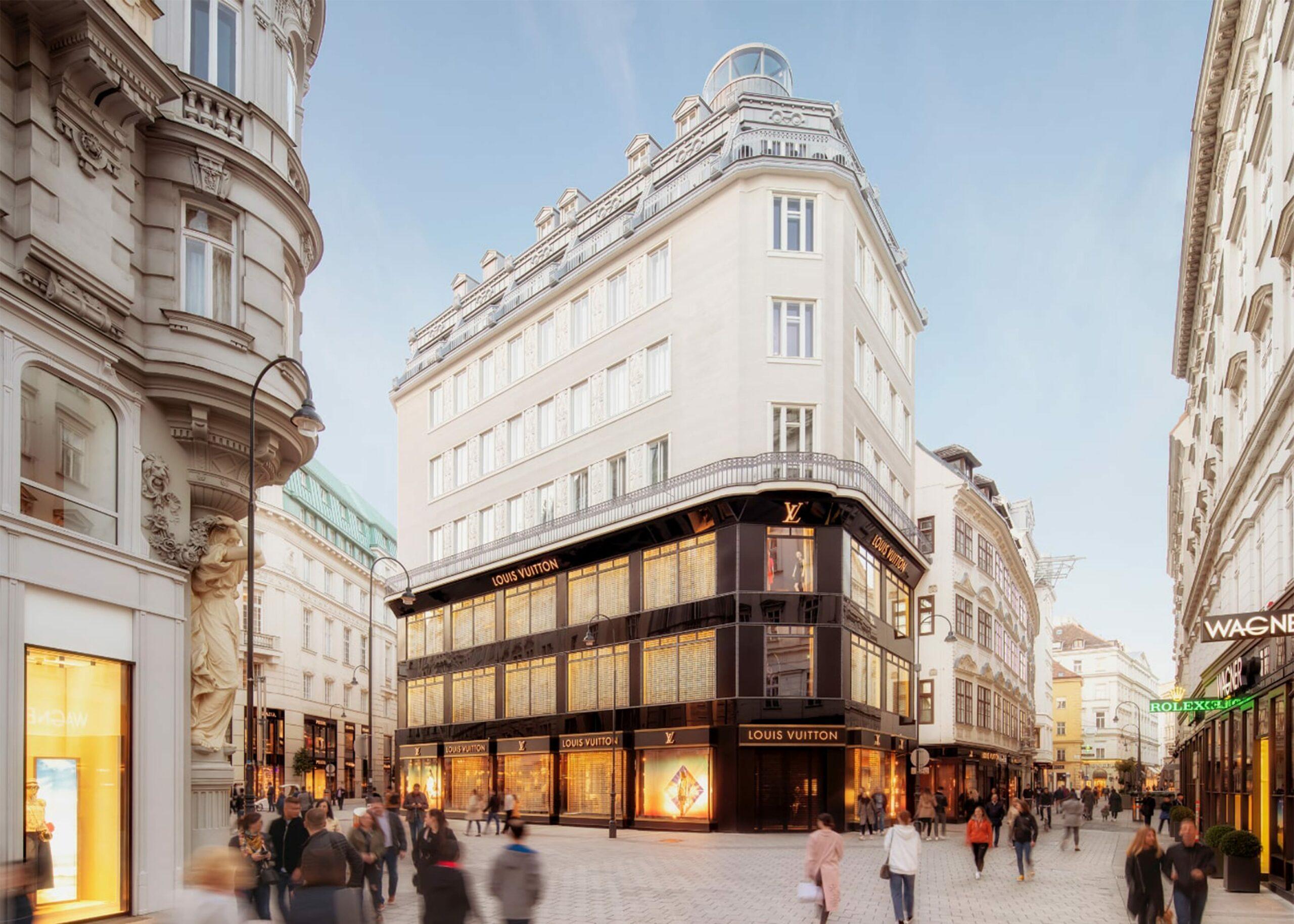 Rendering Goldenes Quartier München